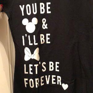 NWT! Disney's Mickey & Minnie Love T-shirt